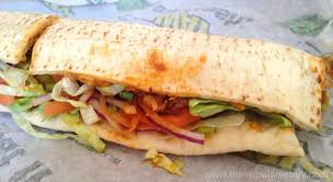 Subway - Chicken Caesar Wrap