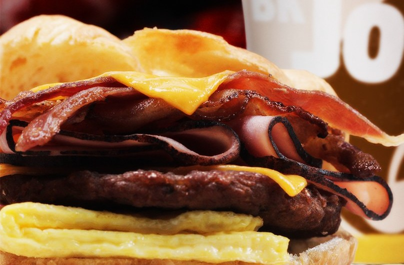 Burger King Croissanwich - Fully Loaded