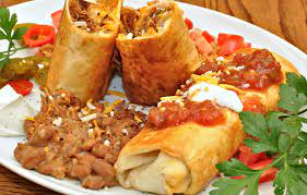 chimichanga - beef